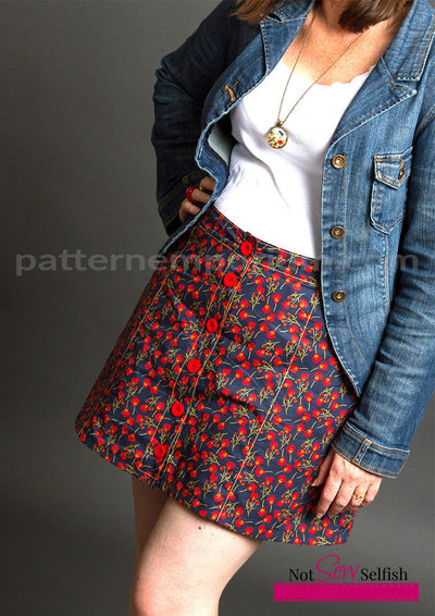 Chelsea Button-Up Skirt
