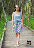 Chelsea Button-Up Skirt Sewing Pattern