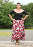View our ladies wrap skirt sewing pattern with flounce