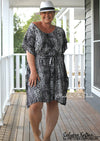 shop Calypso Kaftan neckline add-on sewing pattern