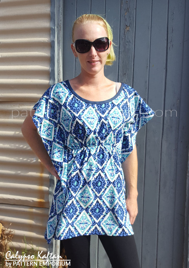 Calypso Kaftan : Neckline Add-on