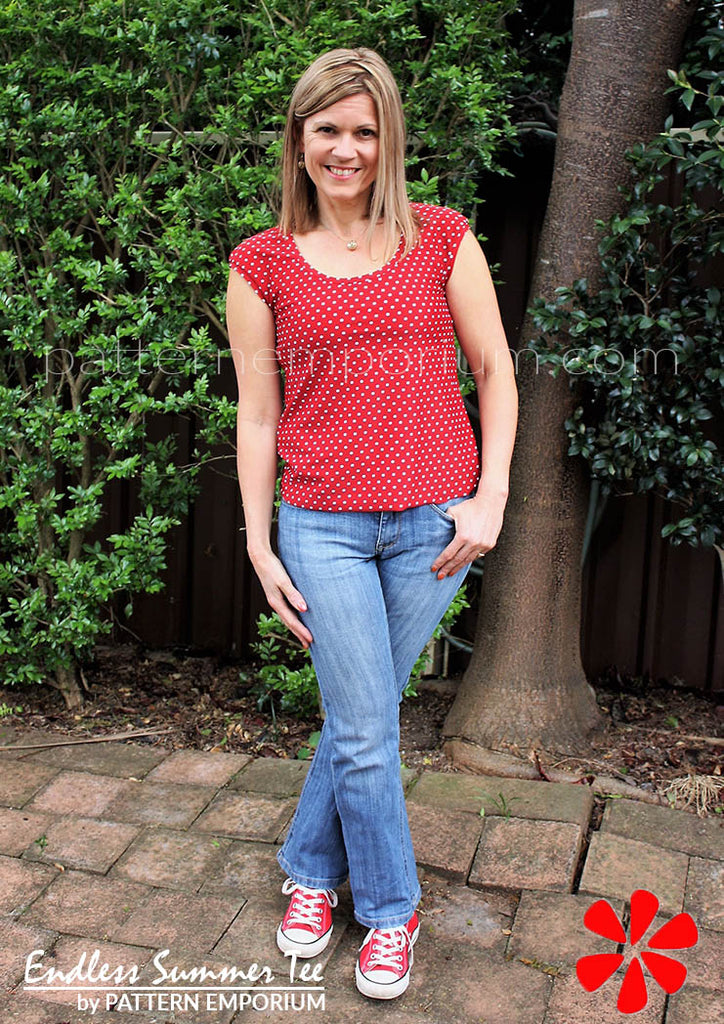Endless Summer Tee Sewing Pattern