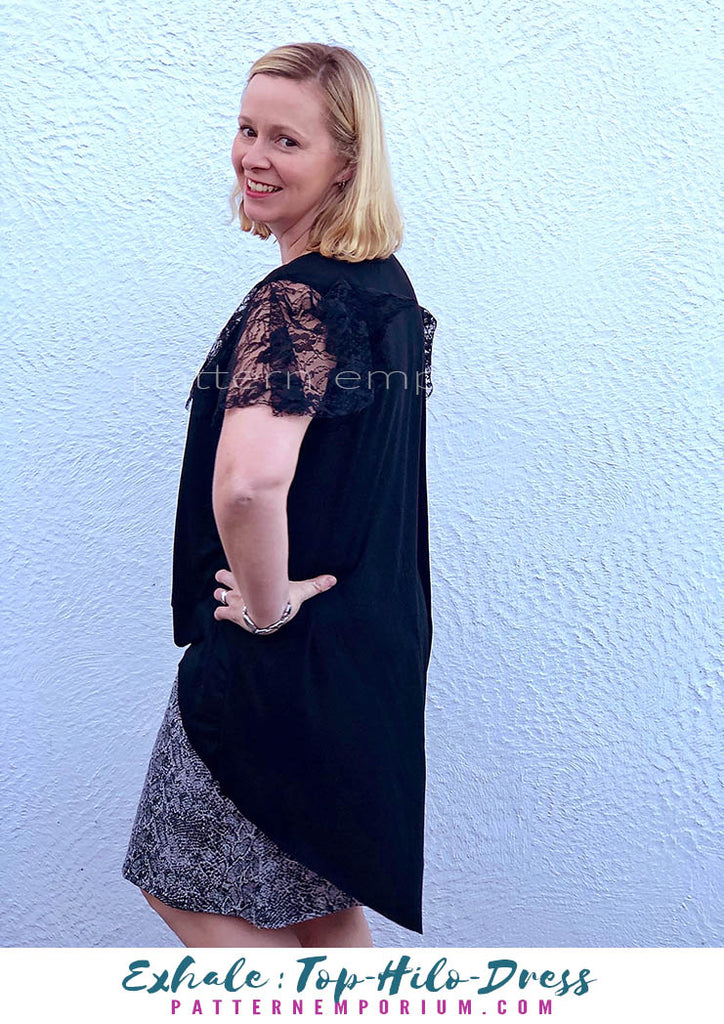 Exhale Top & Dress Sewing Pattern