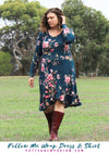 Follow Me Wrap Dress & Skirt