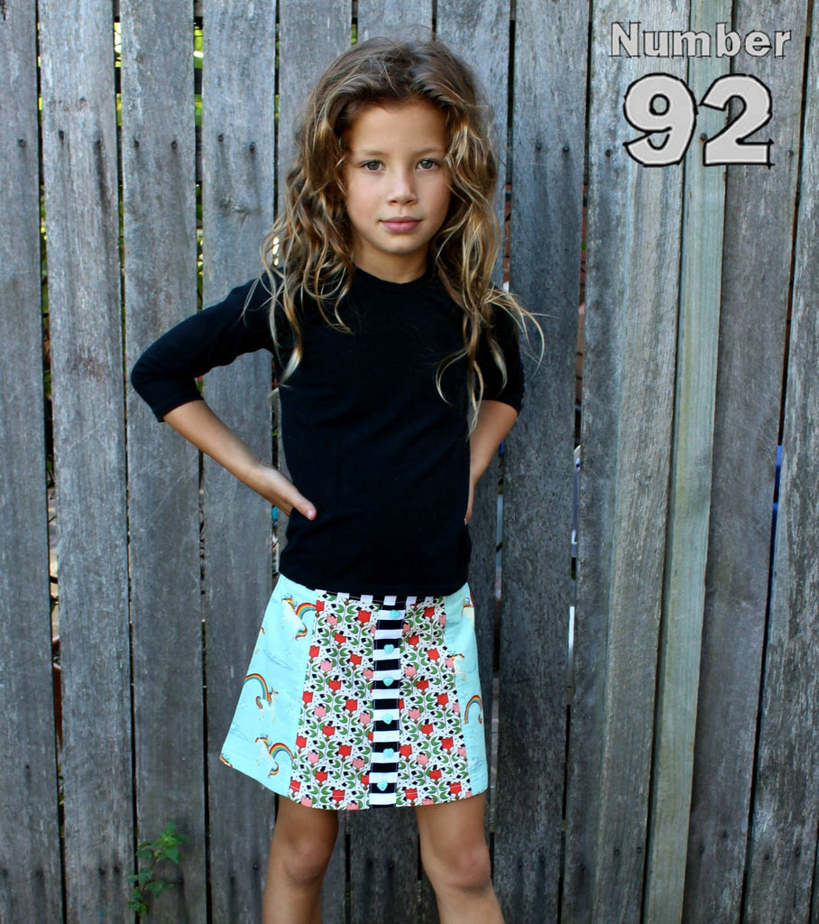 Lovebug A-line Skirt GIRLS PDF SEWING PATTERN