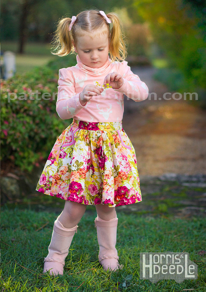 0093d9ee90988 Gathered Skirt (Girls)