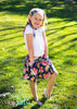 Gathered Skirt GIRLS PDF SEWING PATTERN