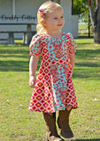 Girls Miss Daydream Dress PDF PATTERN