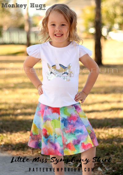 Little Miss Symphony Skirt