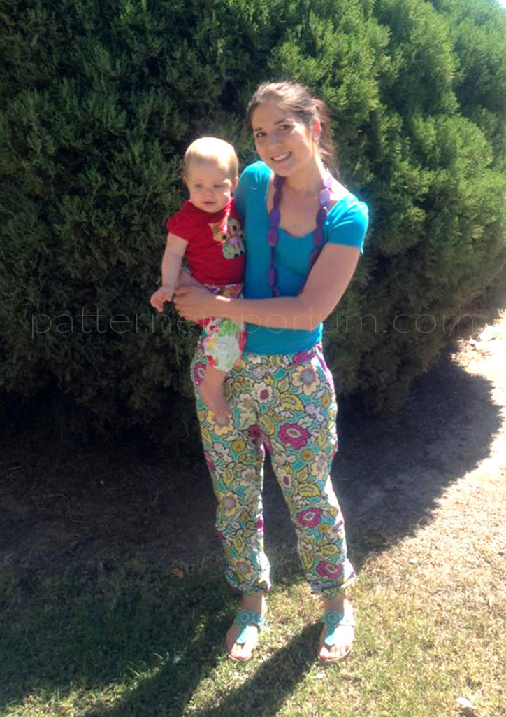 PDF Pattern: Ladies Harem Pants