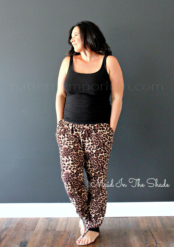 Ladies Harem Pants PDF PATTERN