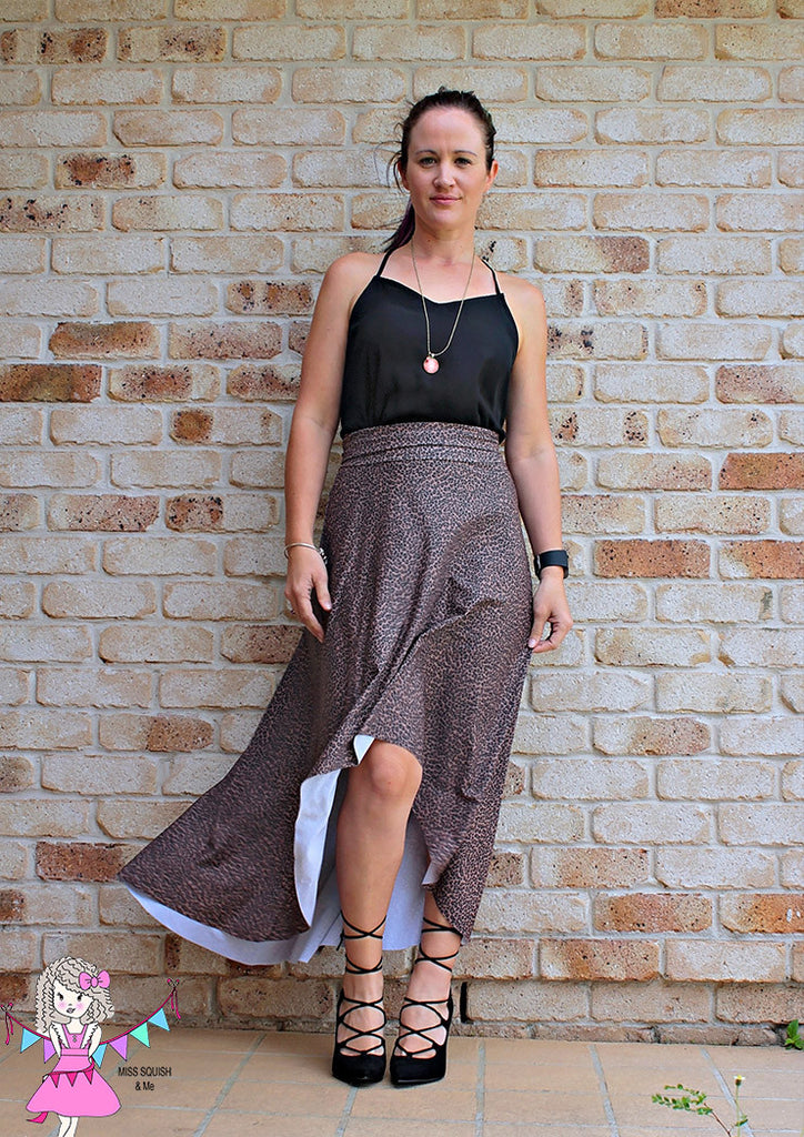 Pattern Emporium hilo skirt ladies stretch sewing pattern