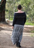 PDF Pattern: Ladies Starlight HiLo Knit Skirt