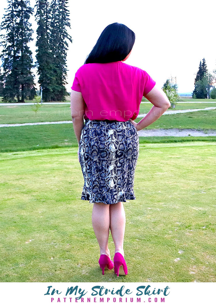 In My Stride Flounce Skirt