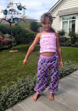 Kids Harem Pants PDF PATTERN