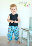 Harem Pants KIDS PDF SEWING PATTERN
