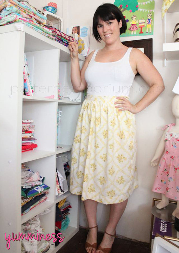 Gathered Skirt (Ladies) Sewing Pattern