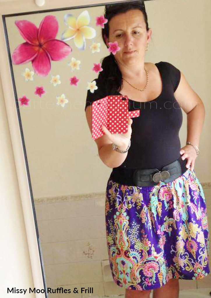 PDF Pattern: Ladies Gathered Skirt