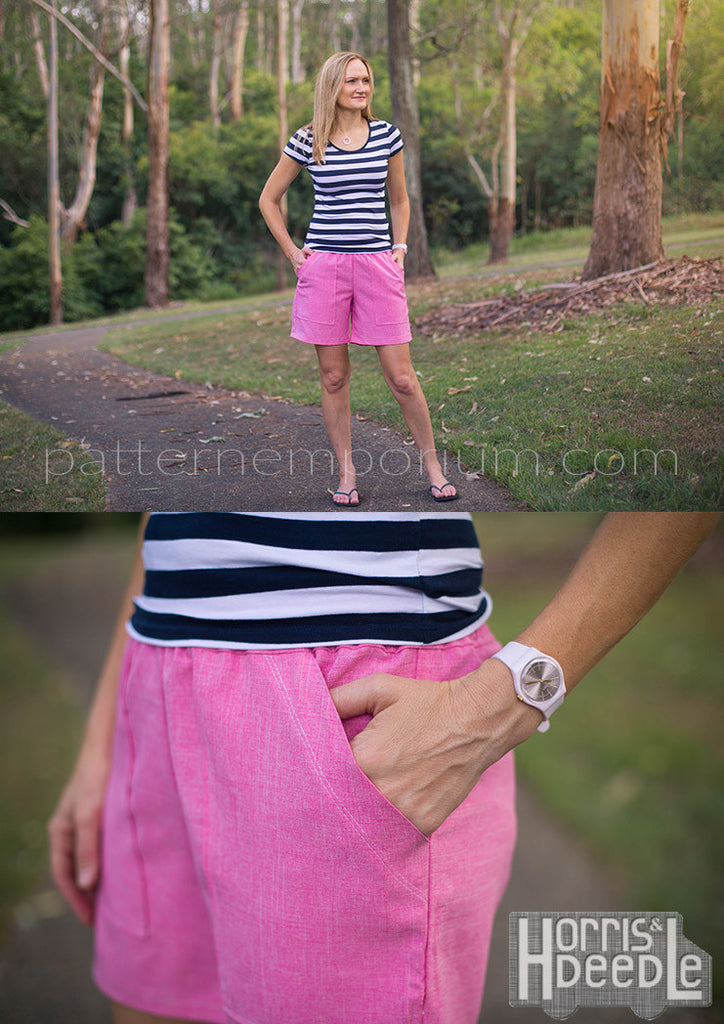 PDF Pattern: Ladies Getaway Shorts