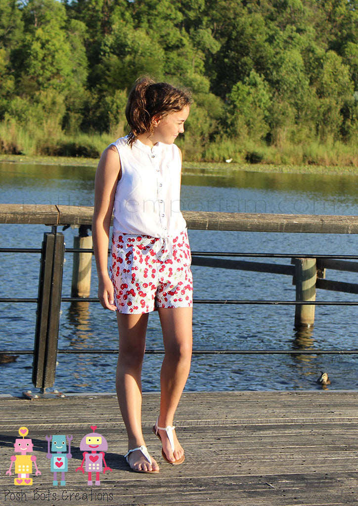 Hepburn Shorts LADIES PDF SEWING PATTERN