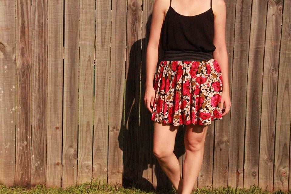 Ladies Skater Skirt PDF PATTERN