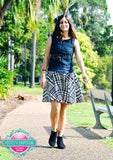 Skater Skirt LADIES PDF SEWING PATTERN