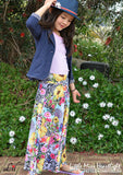 Shop Kids Sewing Patterns: Love the Heartlight Maxi Skirt
