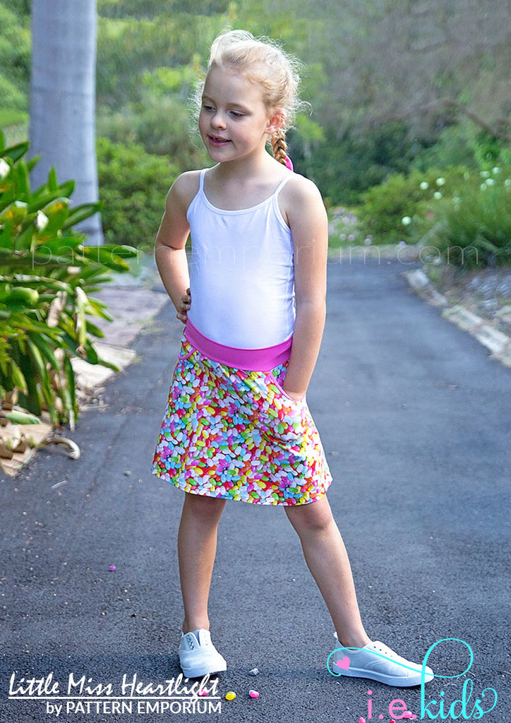 Little Miss Heartlight Skirt