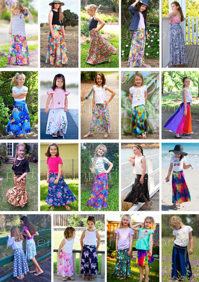 Shop Kids Sewing Patterns: You will love the Heartlight Skirt