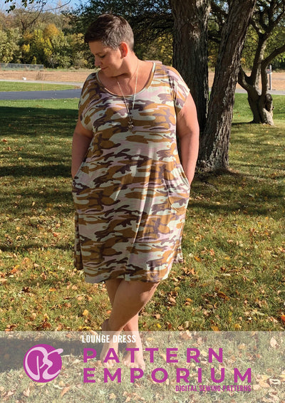 Lounge Dress Sewing Pattern