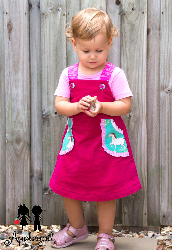 Playtime Pinny GIRLS PDF SEWING PATTERN