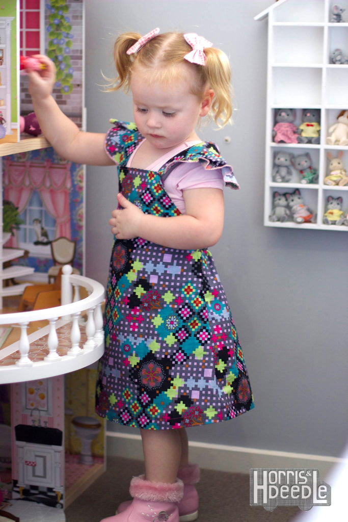 PDF Pattern: Girls Playtime Pinny
