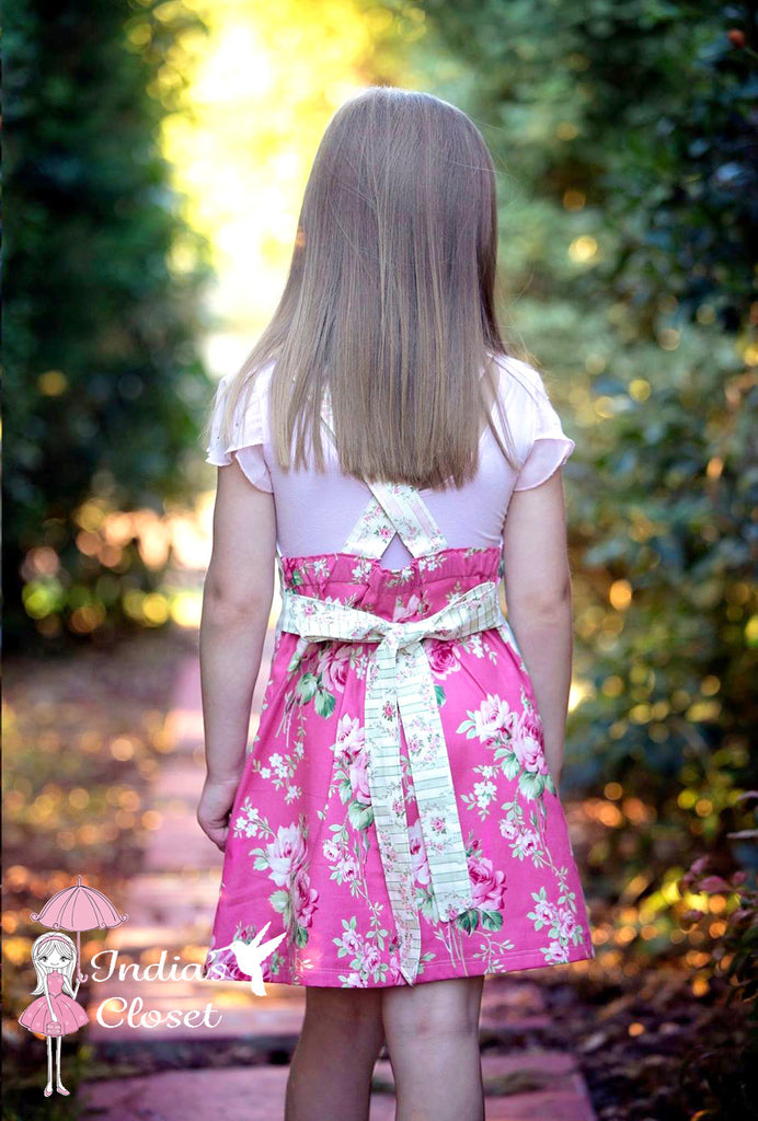 Girls Playtime Pinny PDF PATTERN