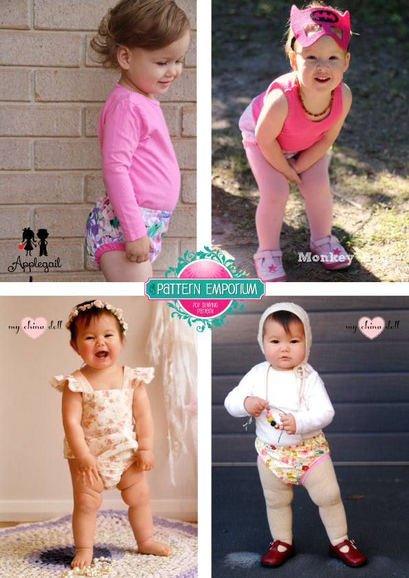 Playtime Pinny BABY & TODDLER PDF SEWING PATTERN
