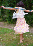Tiered Maxi Skirt LADIES PDF SEWING PATTERN