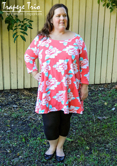 Trapeze Trio - Top, Tunic & Dress