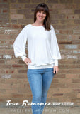 True Romance Bishop Sleeve Top