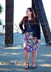 Get Zipped A-line Skirt