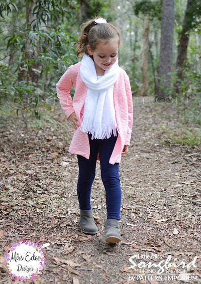 Little Miss Songbird Duster & Cardi