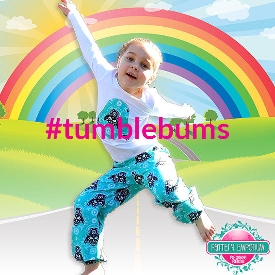 Kids Tumble Bums PDF PATTERN