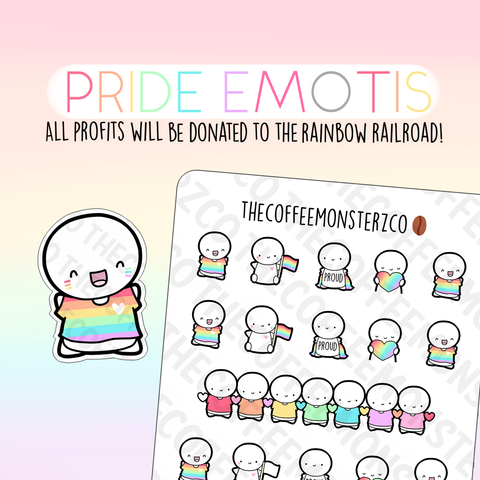 Pride Emotis (Charity Sampler)E412