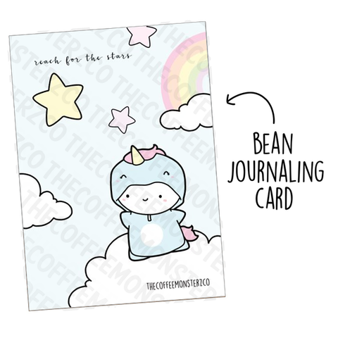 Reach for the Stars (Bean Card)