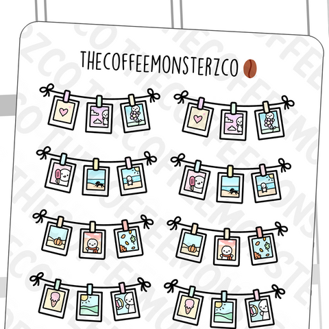 Make Memories Banner, TheCoffeeMonsterzCo
