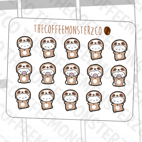 Sloth Emotis, TheCoffeeMonsterzCo