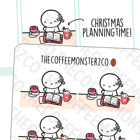 Festive Planning Desk Emotis (RESTOCK)