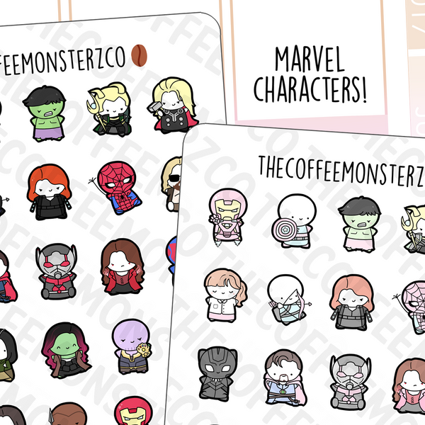 Marvel Emotis Sampler