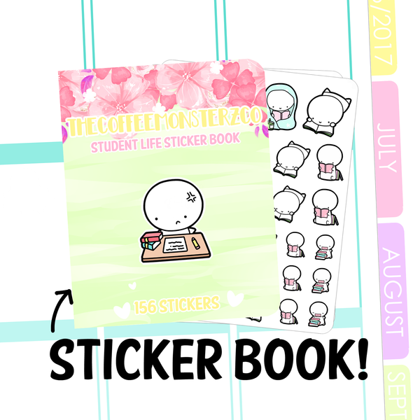 student life Sticker Book