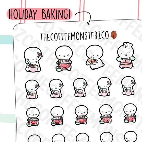 Holiday Baking Emotis (RESTOCK)