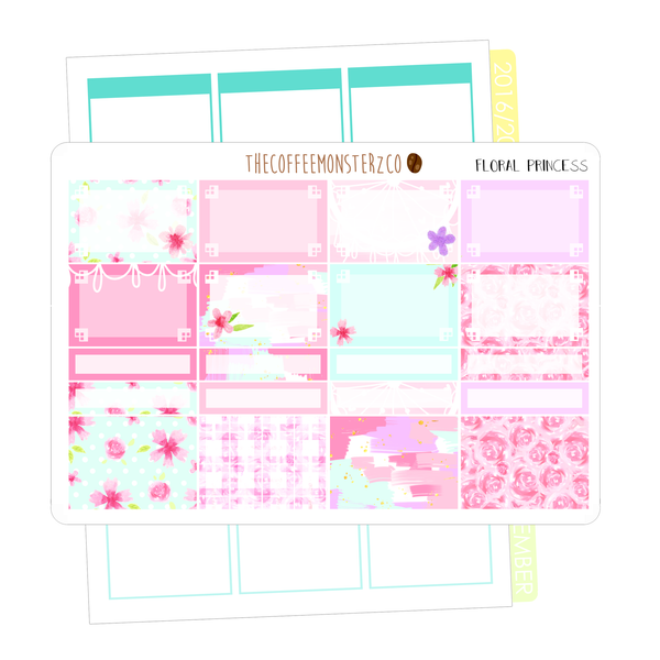 floral princess full vertical kit, TheCoffeeMonsterzCo