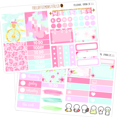 floral princess mini kit